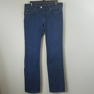 White House Black Market Slim Straight Leg Jeans